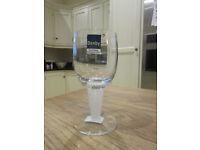 Set of 4 Denby wine glasses