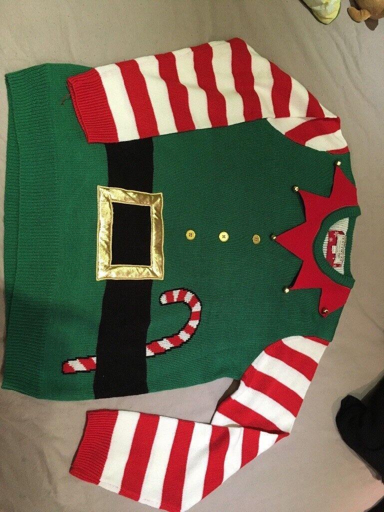 Men's large Christmas jumper £10