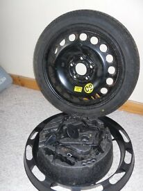 ***Vauxhall fitting space saver tyre wheel 115/70/16***