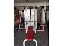 5 Piece Kettler Multi Gym maximum weight 75Kg
