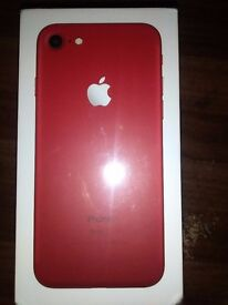 i phone 7 128gb red limited edition