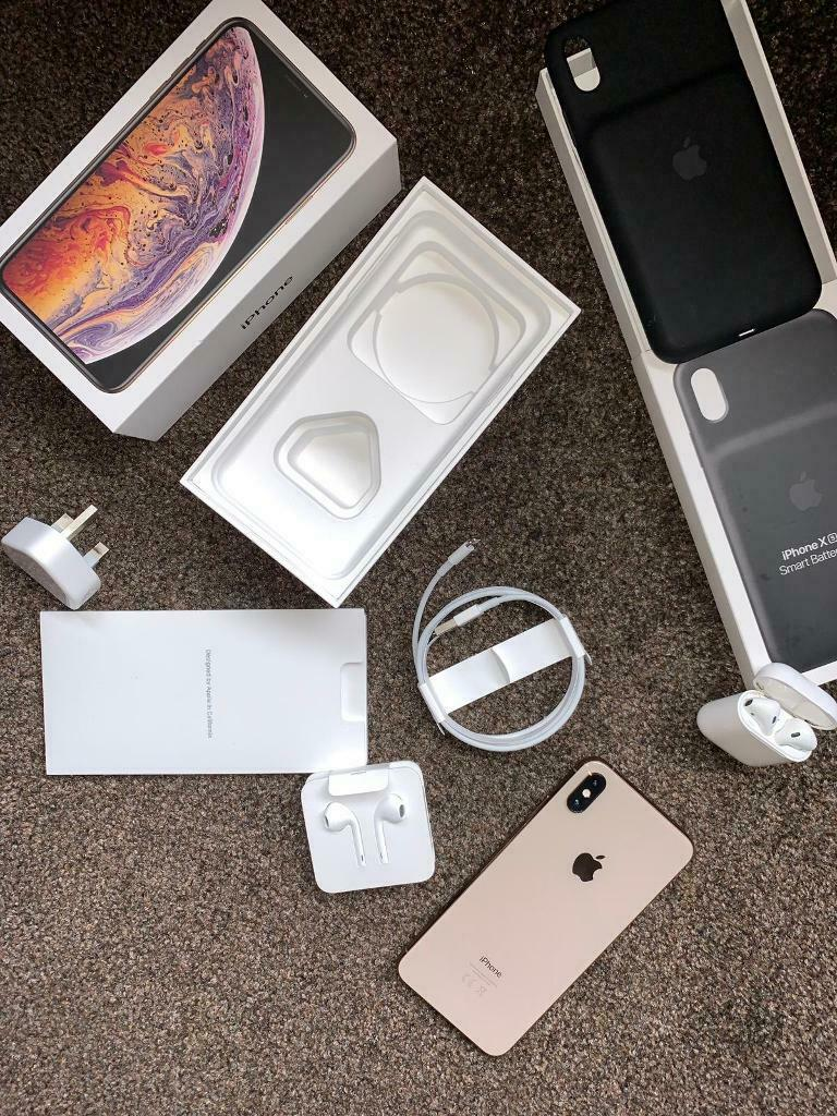 finest selection 7e934 c753b iPhone XS Max 512gb + apple care + apple smart battery case +AirPods | in  Bury, Manchester | Gumtree