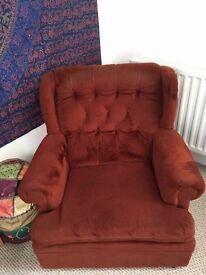 Super cool vintage armchair