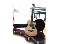 Taylor 712ce Acoustic Guitar - STUNNING