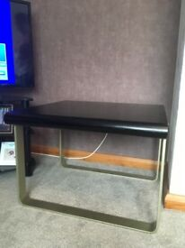 Black/ brown wooden coffee table