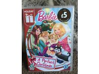 New still in cellophane wrap Barbie a perfect Christmas DVD