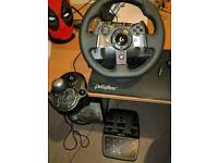 Logitech G920 - Steering Wheel, Pedals and Shifter