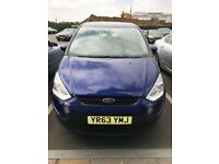 FORD S-MAX 2L DIESEL ZETEC TDCI POWERSHIFT OUTOMATIC GEARBOX