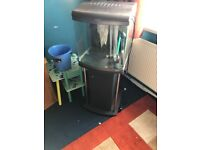 Fish tank with stand full set up