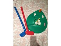 Little tikes toy golf set
