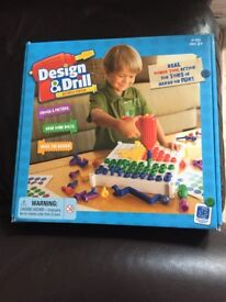 Design and drill toy