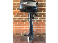 Yamaha 4HP Two Stroke Outboard Boat Engine