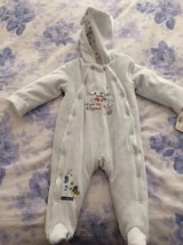 Baby boys all in one coat 6-9 months