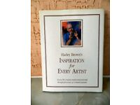 a Rare Book for Artists by Harley Brown