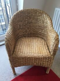 Rattan Arm Chair For Sale