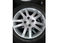 SELECTION OF ALLOY WHEELS FOR SALE