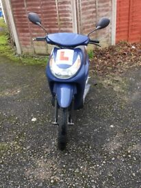 Great little 50 runs fine want to sell it as want a car Little rip in seat but doesn't effect drive