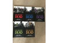 Walking dead Book 1-5 graphic novels