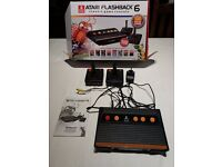 ATARI FLASHBACK 6 CLASSIC GAME CONSOLE. BOXED IN MINT CONDITION. 100 BUILT IN GAMES.