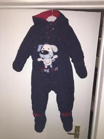 3 boys and girls snowsuits