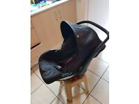 Baby car seat carrier