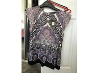 Brand new ladies oasis top size 10
