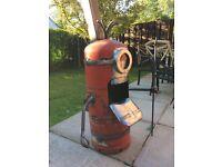 Minion log burner