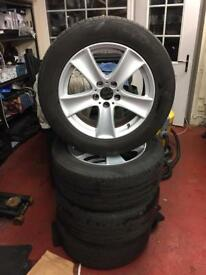 "BMW Alloy Wheels 18"" (fits all models) ideal for transporter vans"