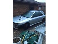 Subaru wagon breaking