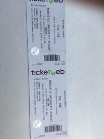 The The - 2 tickets - Newcastle - 3 september