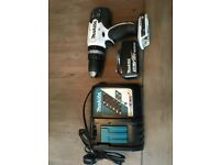 Makita 18v Drill with 3Ah Battery and charger.