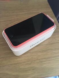 FOR SALE! Flame orange Iphone 5c Handset £50.00 ono