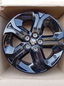 Suzuki Vitara gloss black alloy wheels x 4