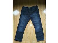 Brand new crosshatch jeans 34 W