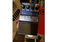 Digitech x series bass multi voice chorus