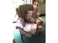Gorgeous Wingback Armchair