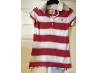 Hollister polo top size M