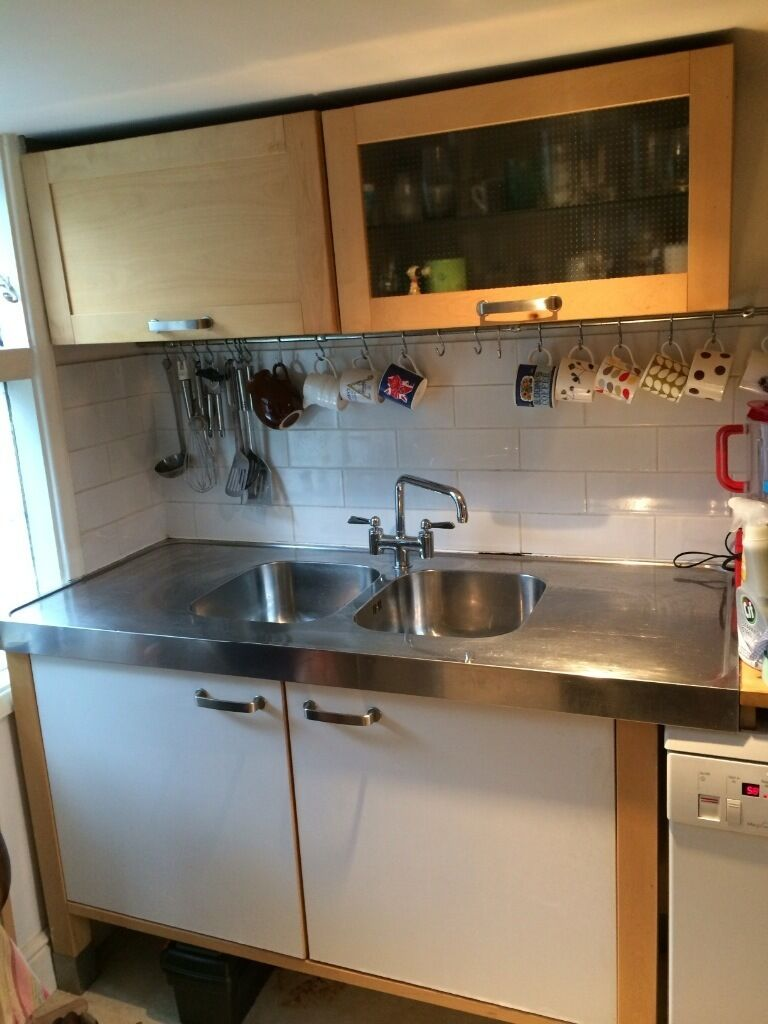 Nice Free Standing Kitchen For Sale Includes Cabinets Sink And Tap Dishwas