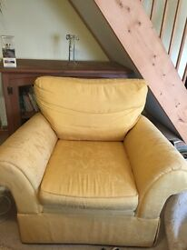 2 x large Armchairs