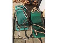 Swing seats