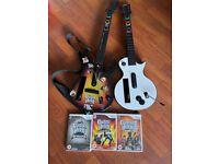 Guitar Hero for Nintendo Wii bundle