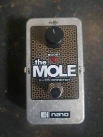Electro harmonix bass booster pedal