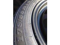 Genuine ford fiesta spare tyre