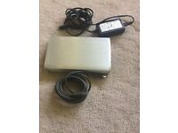 external hard drive 160 G with all the cable