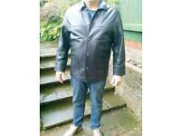 Mens leather jacket from marrs leathers in norwich 44-48 inch chest