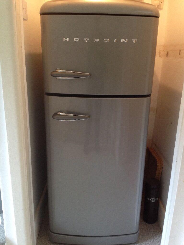 Hotpoint Fridge Freezer Retro Style In Poole Dorset Gumtree
