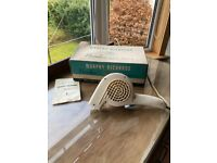 "1960s Morphy Richards ""Noiseless"" hair dryer"