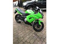 08 58 Kawasaki Er-6f can be a2 legal at no cost if needed er6 er6f