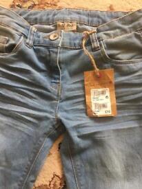 Next gils jeans nwt size 10