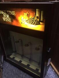 Vintage wine fridge cooler